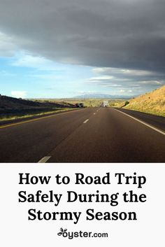 Flying to your destination can be great, but let's be honest, what's more fun than an old-fashioned road trip with family or friends? That being said, with any road trip, things can go wrong and none more so than driving through hazardous weather.