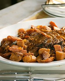 Pot Roast Recipe- An easy family recipe that your family will love. I serve it on hot buttered eggs noodles.