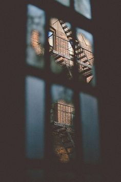 I love the NYC fire escapes! Manhattan photography, NYC photography, New York street photography.