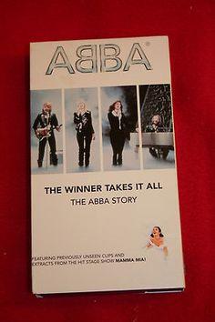 ABBA The Winner Takes All VHS Documentary MAMMA MIA Broadway