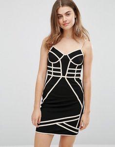 Parisian Strappy Bodycon Dress