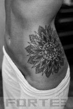 Sacred Geometry Sunflower Tattoo flower of life mandala sacred geometry tattoo ---> great