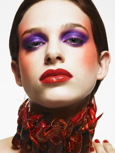 Suzy Johnston + Associates | Dan Lim #beauty #highfashion #makeup #seafood