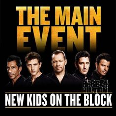 The New Kids On The Block Are The Main Event This Summer! Touring With Nelly & TLC!
