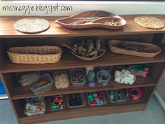 Reggio classroom.  I want to have a reggio inspired home Good suggestions for setting up a Reggio-inspired space and provocations!