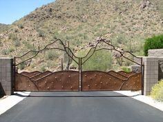 Custom iron gate