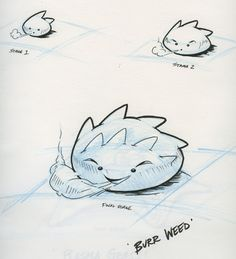 Everything starts with a sketch.#Weirdables