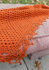 Autumn Winds is a craft hybrid, constituting three styles of stitch work.