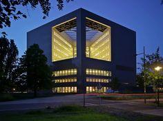 Orion Wageningen University by Ector Hoogstad Architecten, Bronland, Wageningen UR (University & Research centre), 6708WH Wageningen, The Netherlands - 2013.