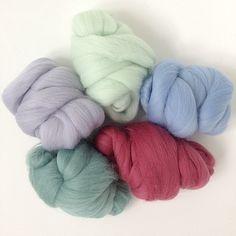 Merino Wool Tops Set - Bronte - 125g