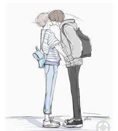 Page 2 Read One Shot~ from the story Daddy ~ Channie~ ChanBaek {Lemon} by Exokbap (VKook) with 550 reads. Chanbaek Fanart, Yoonmin Fanart, Kpop Fanart, Baekyeol, Cute Gay Couples, Anime Couples, Jikook Manga, Baekhyun, Anime Lindo