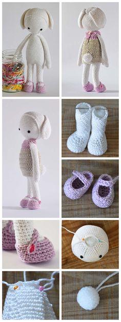 Step-by-step Amigurumi Doll PDF