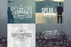 Co Vintage Logo Collection by Yusof Mining on Creative Market