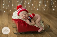 Trenó para fotografia newborn e bebês