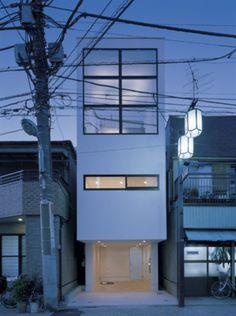 Japanese skinny-house