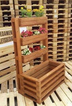 Plans of Woodworking Diy Projects - Creative Beginners Friendly Woodworking DIY Plans At Your Fingertips With Project Ideas, Tips and Tricks Get A Lifetime Of Project Ideas & Inspiration! Pallet Crafts, Diy Pallet Projects, Garden Projects, Outdoor Projects, Wood Crafts, Diy Projects With Wood, Best Diy Projects, Decor Crafts, Diy Crafts