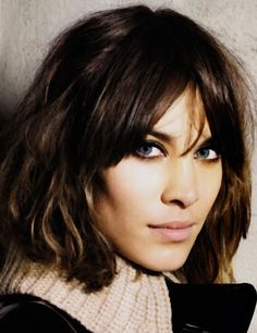 Alexa Chung, Stunning in The Sculptural Hairstyle, Spanish Vogue. Learn More About Alexa's Style, The Elaborate Gamine, Visit www.about.theartofdress.com/elaborate-gamine