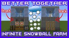 Infinite Snowball Farm Bedrock Edition  https://www.youtube.com/watch?v=GXHmqsbZme8&index=52&list=PLsx5DuY9eeK8V-dCSpR7gYbo6JqOkGldZ&t=0s