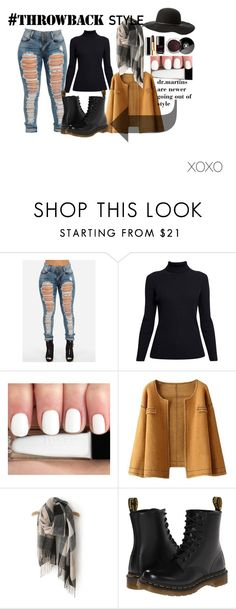"""#throwbackstyle"" by josefine-sp on Polyvore featuring Rumour London, Chanel, Dr. Martens, Charlotte Russe and throwback"