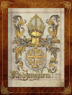 Kingdom of Jerusalem Medieval Coat of Arms