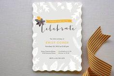 REVEL: Fall Dinner Party Invitation