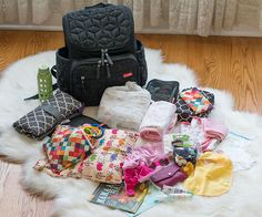 the bag I'll be using | Skip Hop Forma Diaper Bag Backpack Review and packing organization overview
