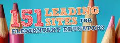 151 Leading Sites for Elementary Educators