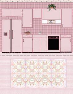 Interior Model – Kitchen