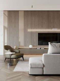 "Aurélie on Twitter: ""… "" Classic Living Room, Living Room Modern, Living Room Designs, Apartment Interior, Apartment Design, Interior Architecture, Interior Design, Living Room Tv, Luxurious Bedrooms"