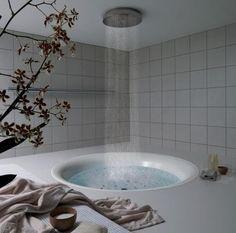 Shower tub= amazing!