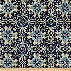 Bryant Indoor/Outdoor Woodblock Prism Blue