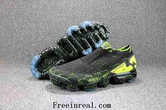 f5af5d4a386d Acronym x Nike Air VaporMax 2018 Moc 2 Flyknit Black Volt Men - New Coming  - Acronym x Nike Air VaporMax 2018 Moc 2 Flyknit Black Volt Men Sneakers  Women ...