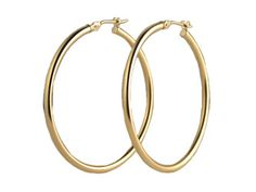 Can't deny that I love a set of giant gold hoops