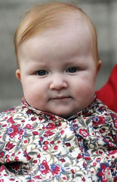 2008 photo of Princess Eleonore of Belgium (the youngest child of Prince Philippe & Princess Mathilde)
