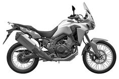 Honda CFR1000L Africa Twin -2015 leaked Trail Motorcycle, Honda Motorbikes, Honda Africa Twin, Custom Cafe Racer, New Africa, New Motorcycles, Honda S, Dual Sport, Twins