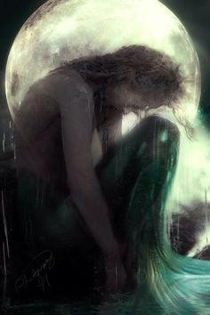 Weeping mermaid  #cry of the sea