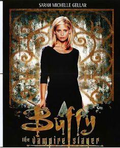 fba498ac0b8 Entertainment Memorabilia Buffy The Vampire Slayer Movie POSTER 11x17 Sarah  Michelle Gellar C LICENSED NEW