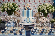 Festa dos Ursos: um clássico tema para festa de aniversário de menino! Bear's Party: a classic theme for a boy birthday party!