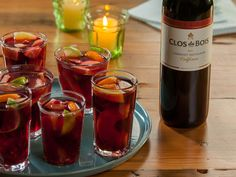 Check out this exclusive recipe from Clos du Bois for Sake Sangria with Clos du Bois Cabernet Sauvignon and DOLE® Pineapple. Answer today's trivia question for a chance to win!