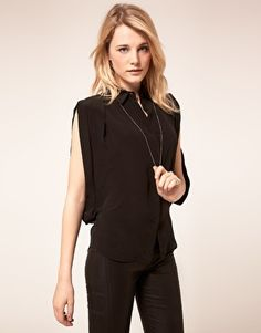 This Open Side Blouse is absolutely gorgeous and sexy. I WANT!