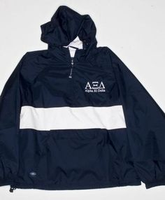 Alpha Xi Delta jacket to keep you warm during tailgates!