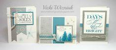 Paper:  Frosted Cardmaking WOTG Kit, Twilight CS, Slate CS, Whisper CS. Inks: Slate, Twilight Other:  3D Foam Tape, Micro-tip Scissors