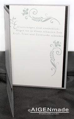Trauerkarten | Beileidskarten | Stampin up