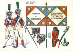 Fucilieri della legione di Hannover al servizio della Francia Empire, Troops, Soldiers, French Revolution, Military Weapons, France, Napoleonic Wars, Warfare, Army