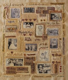 Sue Rowland: My textiles art work, exhibition work and commissions Altered Books, Altered Art, Jennifer Collier, Tea Bag Art, Thought Experiment, Memory Quilts, Mixed Media Scrapbooking, Sketchbook Pages, Gcse Art