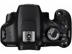 """Câmera Digital Canon EOS Rebel T5 18-55 III 18MP - Semiprofissional Visor 3"""" Zoom Óptico 3x com as melhores condições você encontra no Magazine 125906edson. Confira!"""