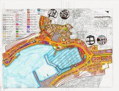 şehir ve bölge planlama, 2012-2016: projeII paftaları
