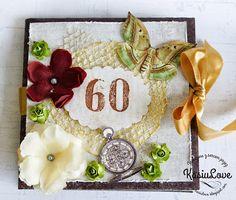 KasiuLove: kartka na 60te urodziny - 60 birthday card