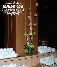 Decoración floral servicio de catering -  Foro de Rectores Panamá 2015