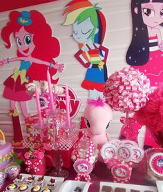 MY LITTLE PONY Equestria Girls Party Prop by HelloSunStudio